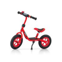 Dětské cykloodrážadlo kolo Milly Mally Dusty red 10 '