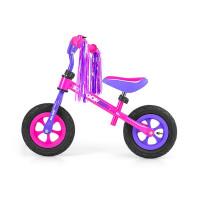 Dětské cykloodrážadlo Milly Mally Dragon AIR 10 '- fialovo-růžové