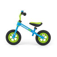 Dětské cykloodrážadlo Milly Mally Dragon AIR 10 '- zeleno-modré