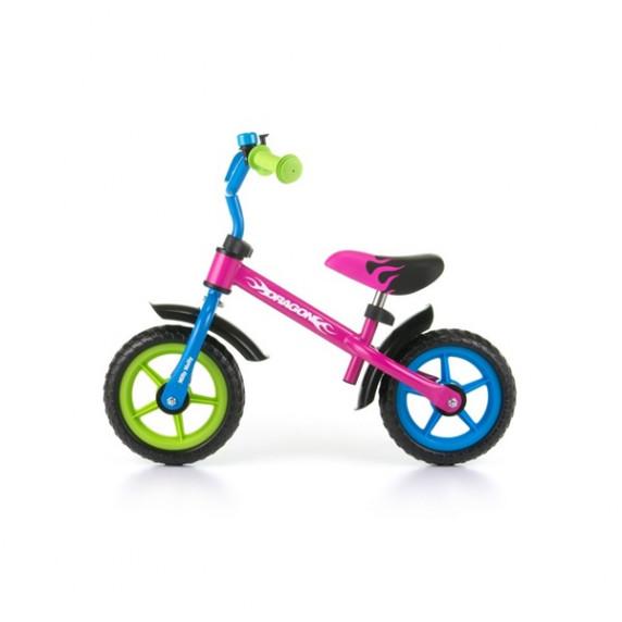 Dětské cykloodrážedlo Milly Mally Dragon 10 '- multicolor