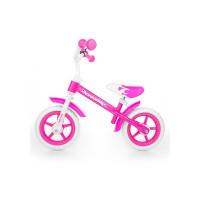 Dětské cykloodrážedlo Milly Mally Dragon 10 '- pink