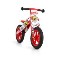 Dětské dřevěné cykloodrážadlo Milly Mally King Poland 12 '