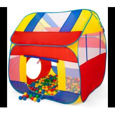 Kiduku Dětský hrací domeček s míčky Preview
