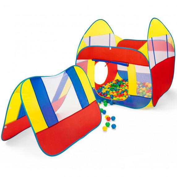 Kiduku Dětský hrací domeček s míčky