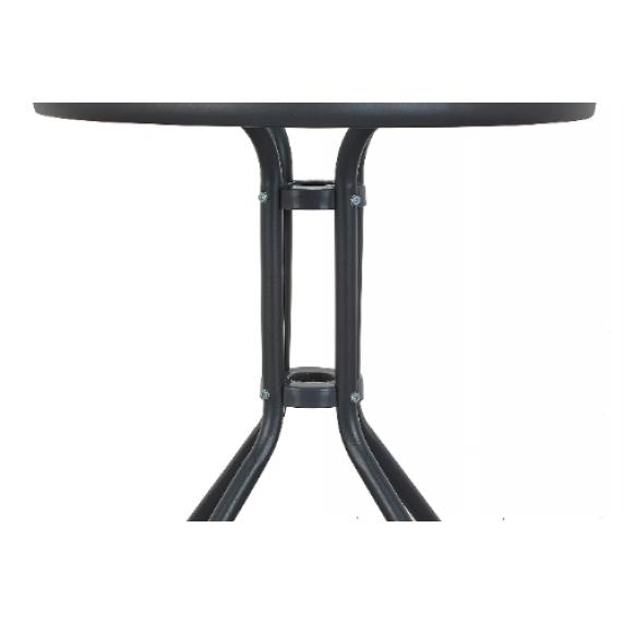 Aga Zahradní stůl MR4350LGY 70x60 cm - černý