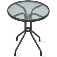 Aga Zahradní stůl MR4350LGY 70x60 cm - antracitový