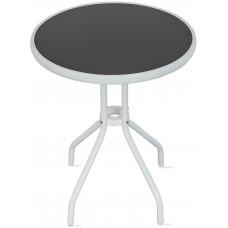 Aga Zahradní stůl MR4350LGY 70x60 cm - bílo-černý Preview
