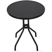 Zahradní stůl MR4352A 70x60 cm - černý