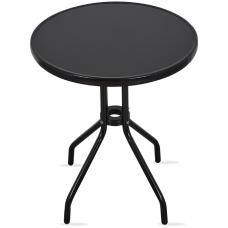 Zahradní stůl MR4352A 70x60 cm - černý Preview