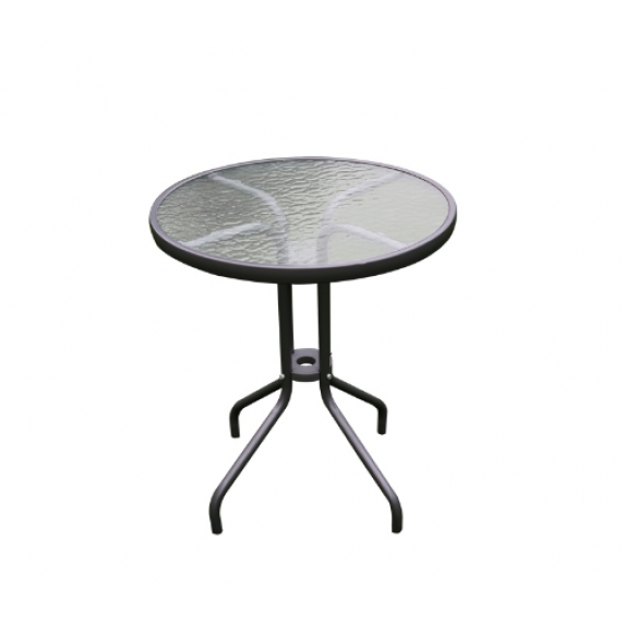 Aga Zahradní stůl MR4350DGY 70x60 cm - antracitový