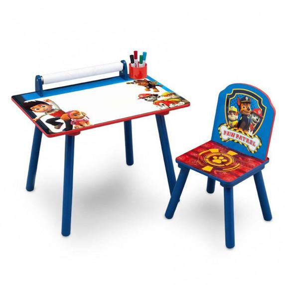 Dětský kreslící stůl Tlapková patrola