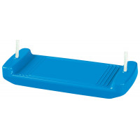 Plastová rovná houpačka Inlea4Fun - Modrá