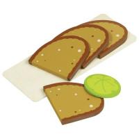 Nakrájený chléb s podnosem Goki