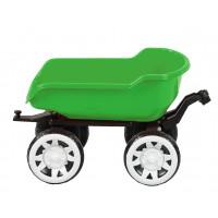 Přívěs na traktor Inlea4Fun Big Farmer - Zelený