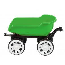 Přívěs na traktor Inlea4Fun Big Farmer - Zelený Preview