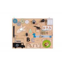 Edukační tabule pro děti 50 x 37,5 cm MT09 - naturální
