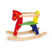Inlea4Fun dřevěný houpací koník - 56163