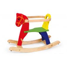 Inlea4Fun dřevěný houpací koník - 56163 Preview