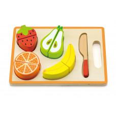 Inlea4Fun dřevěné ovoce na krájení s příslušenstvím - 50978 Preview