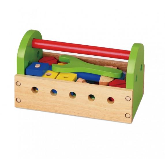 Inlea4Fun dřevěné nářadí v bedýnce