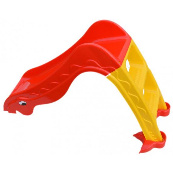 Inlea4Fun skluzavka Dino červená
