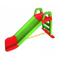Skluzavka s madlem 140 cm Inlea4Fun - zelená