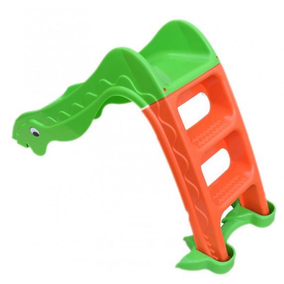 Inlea4Fun skluzavka Dino zelená