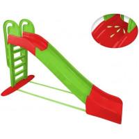 Inlea4Fun Vodní skluzavka s držadlem - zelená