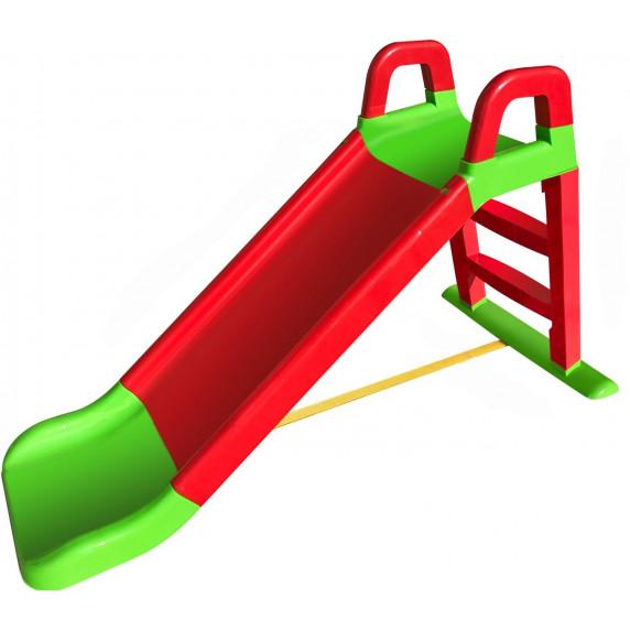 Skluzavka s madlem 140 cm Inlea4Fun - červeno-zelená