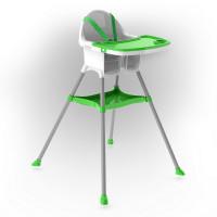 Inlea4Fun dětská jídelní židlička - zelená