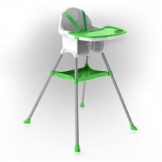 Inlea4Fun dětská jídelní židlička - zelená Preview