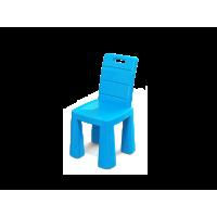 Umělohmotná židlička Inlea4Fun EMMA - modrá
