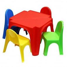 Inlea4Fun dětský plastový stůl se židlemi Keren Preview