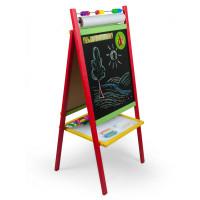 Inlea4Fun dětská magnetická tabule CREATIVE