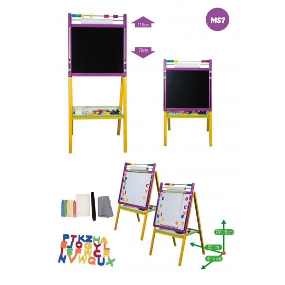 Inlea4Fun Dětská tabule MS7