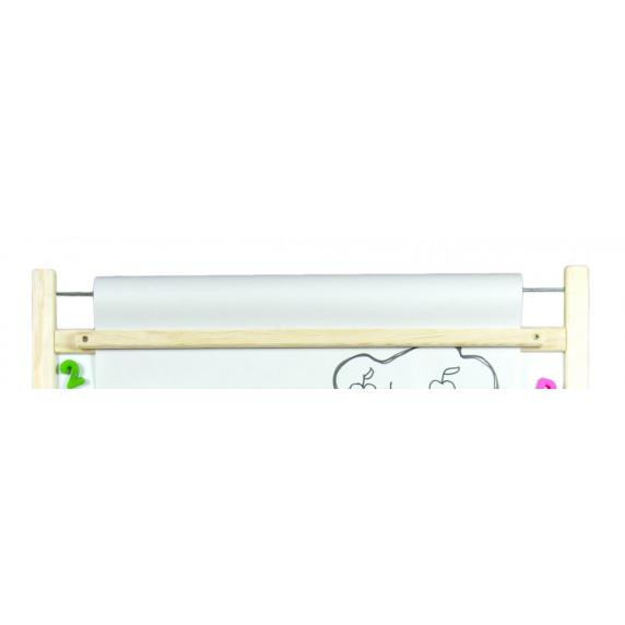 Inlea4Fun dětská magnetická tabule s počítadlem FANTASY natural