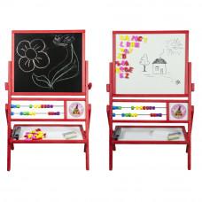 Inlea4Fun Dětská oboustranná tabule MAX červená Preview