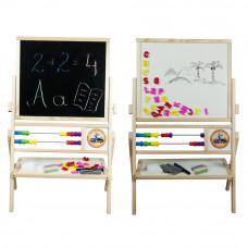 Inlea4Fun Dětská oboustranná tabule MAX  Preview