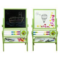Inlea4Fun Dětská oboustranná tabule MAX zelená