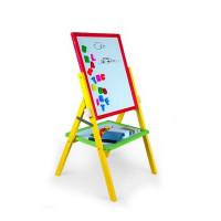 Inlea4Fun dětská otočná tabule RAINBOW