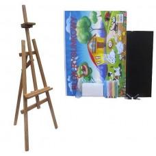 Malířský stojan sada 180 cm Inlea4Fun S180-1 - hnědý Preview