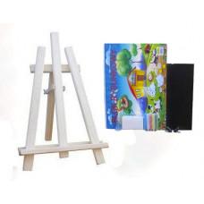 Malířský stojan stolní sada 60 cm Inlea4Fun - naturální Preview