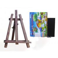 Malířský stojan stolní sada 60 cm Inlea4Fun - tmavohnědý