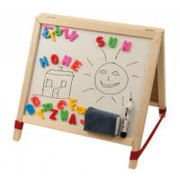 Dětská kreslící tabule Inlea4Fun TABLE stolní - oboustranná