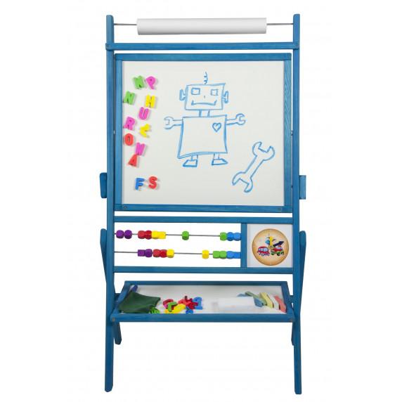 Inlea4Fun Detská tabuľa BIG BLUE