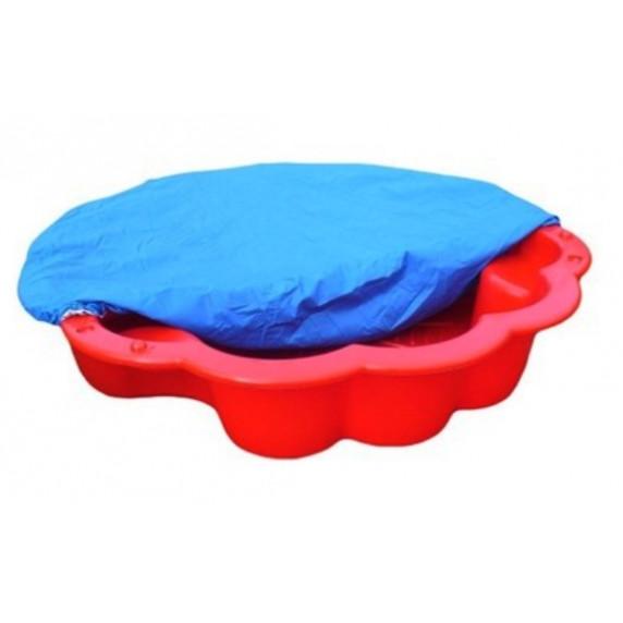 Inlea4Fun pískoviště Margaréta s přikrývkou - červené