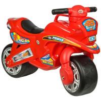 Inlea4Fun odrážedlo v podobě motorky - červená