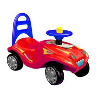 Inlea4Fun Mini Mobile odrážedlo pro děti - Červená