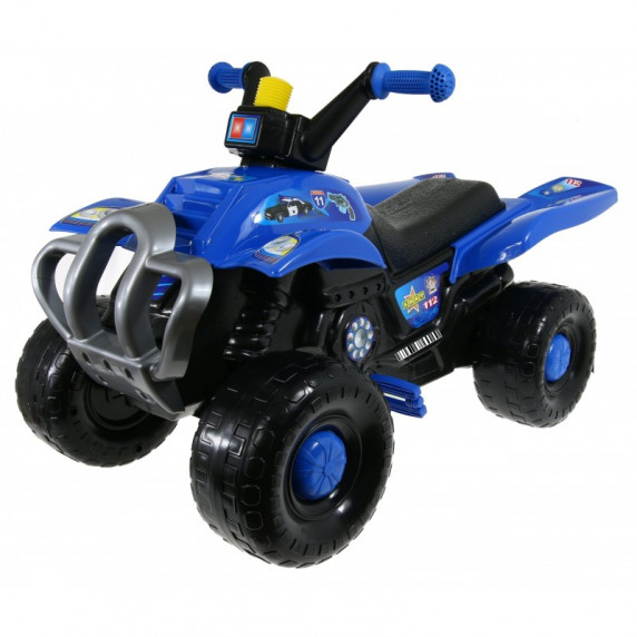 Inlea4Fun Big Quad motorka s pedály - Modrá