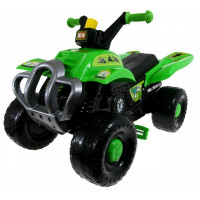 Inlea4Fun Big Quad motorka s pedály - Zelená